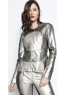 Jaqueta Metalizada - Douradamax Glamm