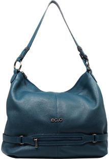 Bolsa De Couro Recuo Fashion Bag Sacola Verde Oceano