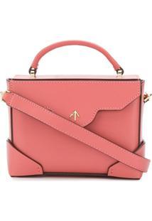 Manu Atelier Small Box Bag - Rosa