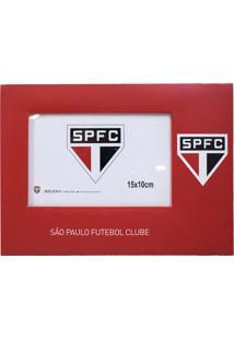 Porta Retrato Minas De Presentes Papelão Para Uma Foto 15X10Cm - Spfc Vermelho