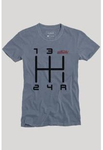 Camiseta Reserva Quinta Marcha Masculina - Masculino-Marinho