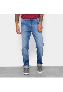 Calça Jeans Slim Forum Estonado Cintura Alta History Masculina - Masculino