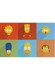 Jogo Americano (Kit 4 Unidades) Simpsons Minimalista Grande