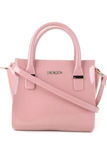Bolsa Petite Jolie Handbag Love Feminina - Feminino-Rosa