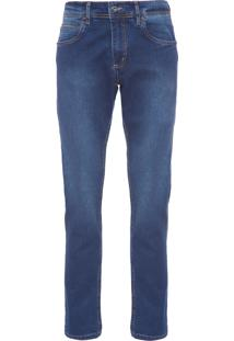 Calça Jeans Masculina Índigo Blue - Azul