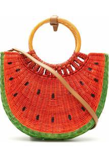 Serpui Bolsa Basket Watermelon - Vermelho