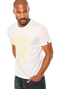 Camiseta Zebra Sphere Branca