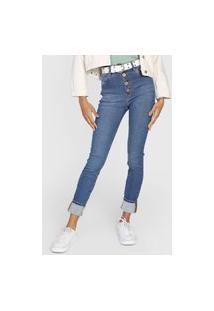 Calça Jeans Dimy Skinny Olivia Azul