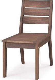 Cadeira Fortaleza Sem Braco Cor Stain Nogueira - 23118 - Sun House