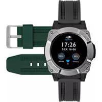 b6d6c226830b0 Relógio Inteligente Smartwatch Mormaii Revolution Mosraa - Masculino -  Preto Cinza