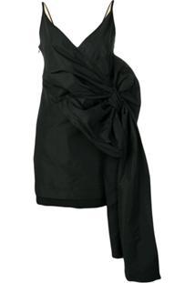 Nº21 Vestido Oversized Com Laço - Preto