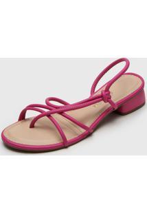 Sandália Dakota Tiras Pink