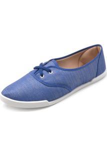 Tênis Moleca Fosco Azul