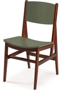 Cadeira Dumon Cor Cacau Com Fendi - 30792 - Sun House