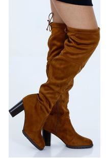 Bota Feminina Over The Knee Beira Rio 9057103