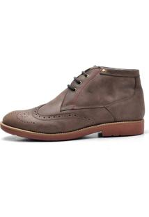Sapato Masculino Reta Oposta Oxford 31 Fly Bege