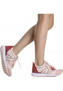 Tênis Tanara Jogging Recortes