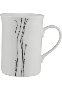 Caneca Porcelana Schmidt 240 Ml - Dec. Ines