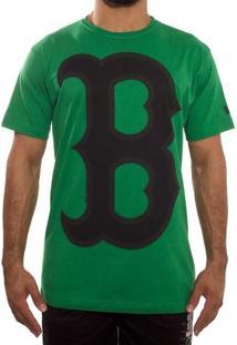Camiseta New Era Color Boston Red Sox Verde Tam: P