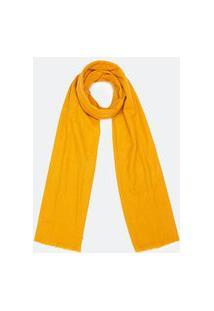 Cachecol Básico Em Poliester | Accessories | Amarelo | U
