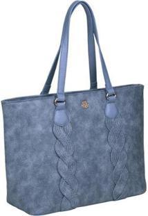 Bolsa Ana Hickmann Feminina - Feminino-Azul