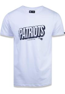 T-Shirt New Era Lifestyle New England Patriots Branco