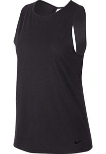 Regata Nike Dri-Fit Studio Open Back Feminina - Feminino