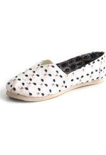 Alpargata Old Is Cool Shoes Inbox - Feminino-Branco