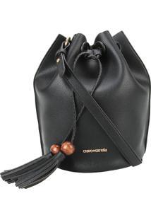 Bolsa Saco Puxador Madeira Black Cravo E Canela Plcv19115