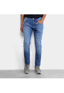 Calça Jeans Skinny Biotipo Estonada Masculina - Masculino-Azul Claro