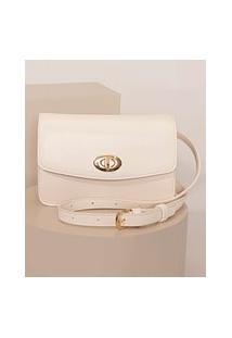 Bolsa Pochete Feminina Pequena Off White