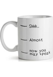 Caneca Now You May Speak Geek10 Branca