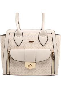 Bolsa Desenhos Mickey Feminina - Feminino-Branco