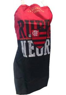 Avental Flamengo Rubro Negro - Unissex