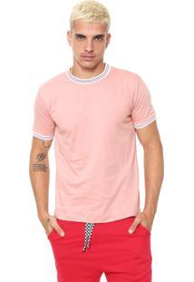 Camiseta Fiveblu Lisa Rosa