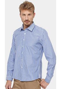Camisa Bluebay Listras Masculina - Masculino