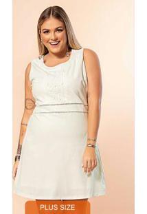 Vestido Secret Glam Branco