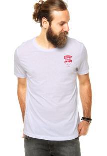 Camiseta Coca-Cola Jeans Escudo Branco