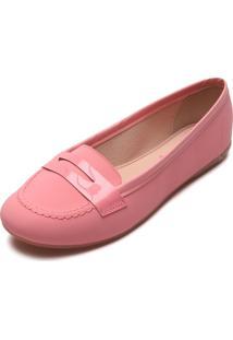 Mocassim Moleca Color Rosa