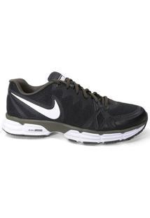 Tênis Nike Dual Fusion Tr 6 704889 Masculino Black White Kaki