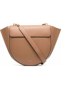 Wandler Hortensia Shoulder Bag - Marrom