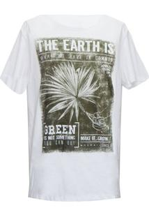 Camiseta Mormaii Earth Now - Masculino-Branco