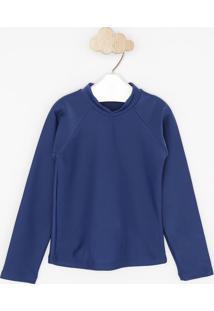 Camiseta Lisa - Azul Marinhopuket