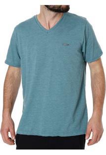 Camiseta Manga Curta Masculina No Stress Verde