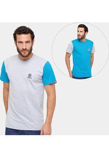 Kit Camiseta Element Week Day One Duo Masculina 2 Peças - Masculino