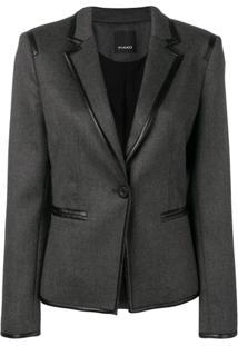 Pinko Tailored Fitted Blazer - Cinza