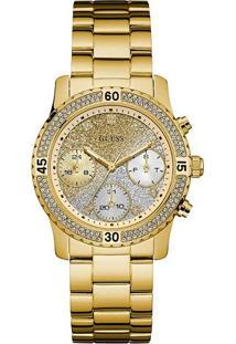 Relógio Guess Feminino Aço Dourado - W0774L5