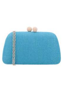 Bauarte - Bolsa Clutch De Tecido Bauarte - Bolsa Clutch De Tecido Azul