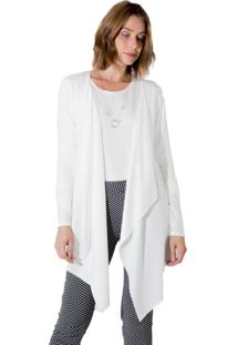 Cardigan Adamas Viscolycra Off-White