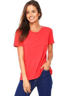 Camiseta Calvin Klein Jeans Lisa Vermelha